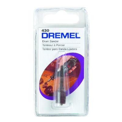 Dremel 0.3 in. Dia. x 0.1 in. Dia. 60 Grit Drum Sander Aluminum Oxide