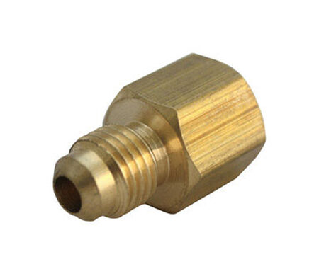 Ace 5/8 in. FPT Dia. x 3/8 in. FPT Dia. Brass Flare Connector