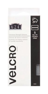 Velcro 4 in. L x 1 in. W Hook and Loop Fastener 5 pk