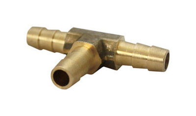 Ace Brass Hose Barb 3/8 in. Dia. x 3/8 in. Dia. Yellow 1 pk