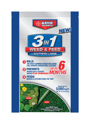 Bayer Advanced 3 In 1 Weed and Feed Zoysia 5000 sq. ft. Granules 35-0-3