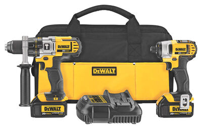 DeWalt Cordless 2 tools Combo Kit 20 volts