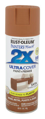 Rust-Oleum Painter's Touch Ultra Cover Warm Caramel Satin 2x Enamel Spray 12 oz.