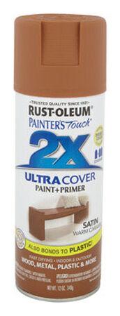 Rust-Oleum Painter's Touch Ultra Cover Warm Caramel Satin 2x Enamel Spray 12 oz.