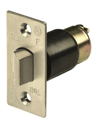 Tell Brass Unguarded Latch Bolt For Knob and Lever Locksets