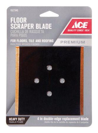 Ace 4 in. W Steel Floor Scraper Blade