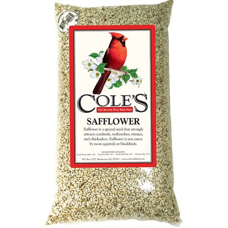 Cole's Assorted Species Wild Bird Food Safflower Seeds 10 lb.