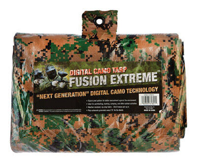 Fusion Extreme Digital Camouflage Medium Duty Tarp 11 ft. 4 in. W x 15 ft. 6 in. L
