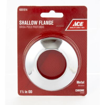 Ace 1-1/2 in. Brass Shallow Flange