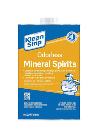 Klean Strip Odorless Mineral Spirits 1 qt.