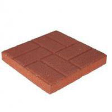 Step Stone Brick Face Red 16""