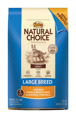 Nutro Natural Choice Large Chicken Adult Dog Food 30 lb.