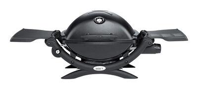 Weber Q1200 LP Gas/Propane Grill Black 8500 BTU