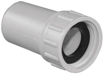 Lasco PVC Swivel Hose Adapter 1/2 in. Dia. x 3/4 in. Dia. White 1 pk