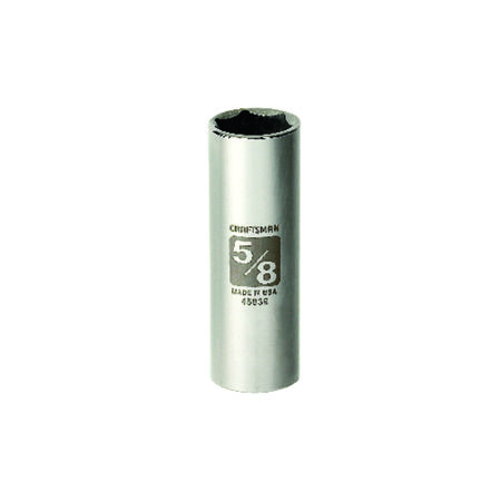 Craftsman 5/8 in. x 3/8 in. drive SAE 6 Point Deep Socket 1 pc.