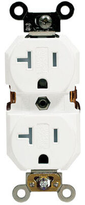 Leviton Electrical Receptacle 20 amps 5-20R 125 volts White