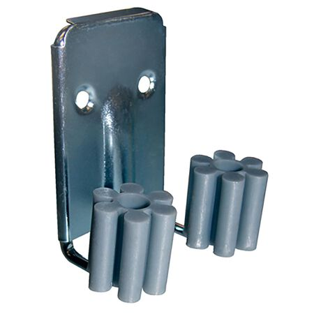 Crawford 1/4 in. Steel/Plastic 0.2 in. L Broom Clips 2