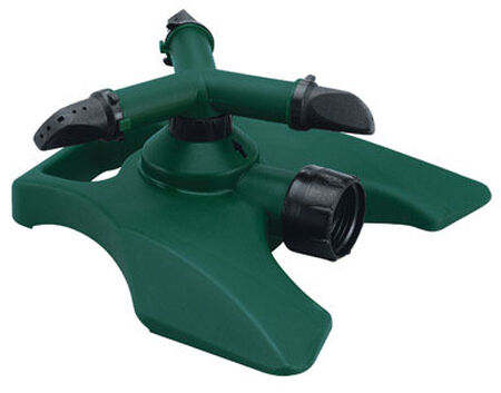 Home Plus Plastic Sled Rotating Sprinkler 7853 sq. ft.