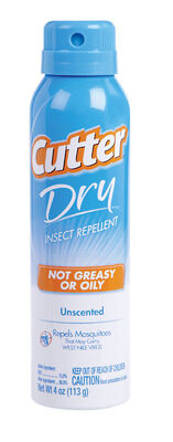 Cutter Dry DEET 10% Insect Repellent 4 oz.
