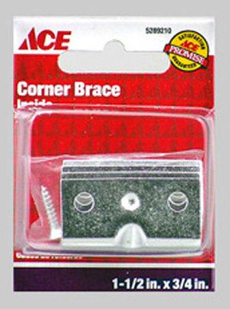 Ace Inside Corner Brace 1-1/2 in. x 3/4 in. Zinc