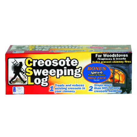 CSL Creosote Sweeping Fire Log 1-1/2 hr.
