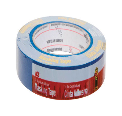 Ace 0.7 in. W x 60 yd. L General Purpose Painter's Tape Regular Strength Blue 1 pk