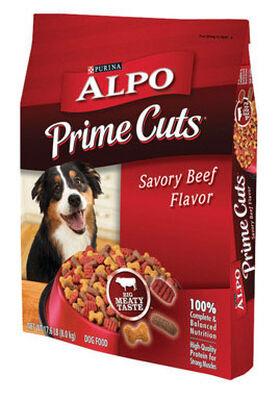 Purina Alpo Prime Cuts Savory Beef Adult Dog Food 16 lb.