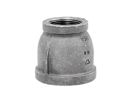B & K 3/8 in. Dia. x 1/4 in. Dia. FPT To FPT Galvanized Malleable Iron Reducing Coupling