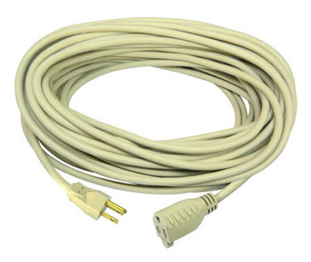 Ace Indoor and Outdoor Extension Cord 16/3 SJTW 100 ft. L Beige
