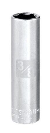 Craftsman SAE 3/8 in. Alloy Steel 1/4 in. Drive in. drive Deep Socket