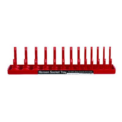 Hansen Global 13.25 in. L x 0.4 in. SAE Socket Tray Plastic 1 pc.