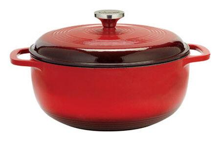 Lodge Porcelain Enamel Dutch Oven Red