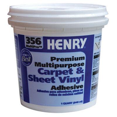 Henry 356 MultiPro Premium Multipurpose Carpet & Sheet Vinyl Adhesive 1 qt.