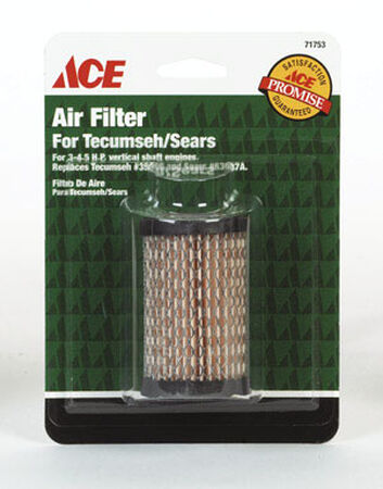 Ace Small Engine Air Filter For For Tecumseh 3-4.5 HP Vertical Shaft Engines 3-4.5 HP Engines