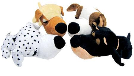 Fathedz For Dog Beagle Dalmation Doberman and Golden Retriever Plush Dog Toy