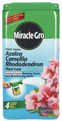 Miracle-Gro Azalea Camellia Rhododendron Plant Food For Acid-Loving Plants 5 lb.