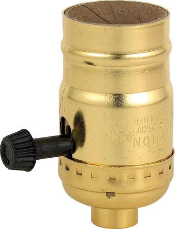 Leviton Lampholder 250 watts 250 volts Brass