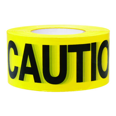 C.H. Hanson 1000 ft. L x 3 in. W Barricade Tape Caution