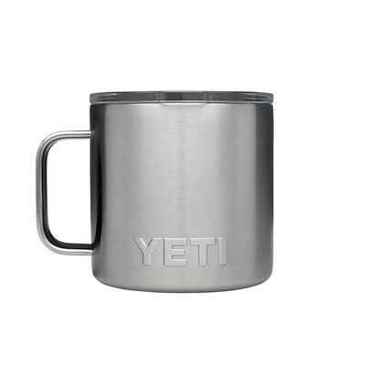 YETI Rambler 14 oz. Insulated Mug Silver