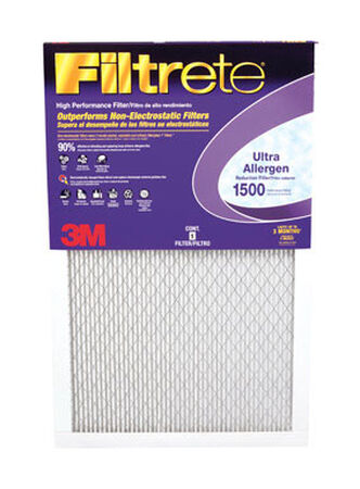 3M Filtrete 14 in. W x 20 in. L x 1 in. D Air Filter