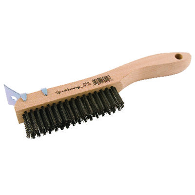 Forney Scratch Brush 10-1/4 in. L