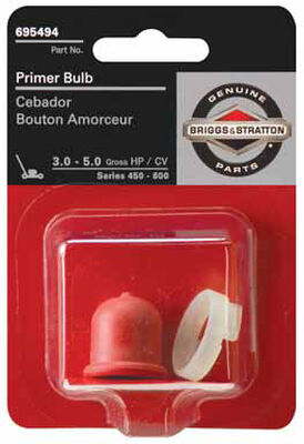 Briggs & Stratton Primer Bulb For 450-600 Series 3-5 HP Engines