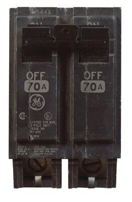 GE Q-Line Double Pole 70 amps Circuit Breaker