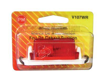 Peterson Mini-Lite Amber 1-1/8 in. x 1 in. x 3-1/4 in. Visual Pack