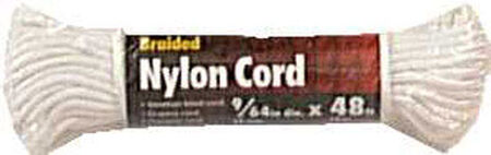Ace 9/64 in. Dia. x 48 ft. L Braided Nylon Venetian Blind Cord White