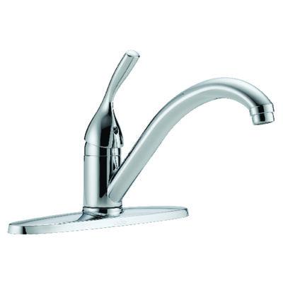 Delta Classic One Handle Chrome Kitchen Faucet