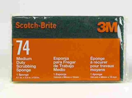 3M Scotch-Brite For Multi-Purpose Scrub Sponge 1 pk