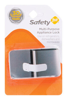 Safety 1st White Plastic Appliance Latch