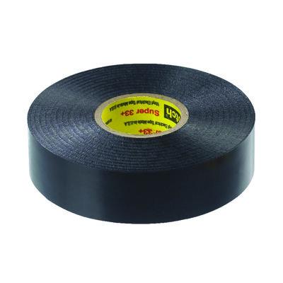 Scotch 3/4 in. W x 66 ft. L Vinyl Electrical Tape Black