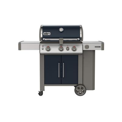 Weber Genesis II E-325 3 burners Propane Grill Indigo 39000 BTU